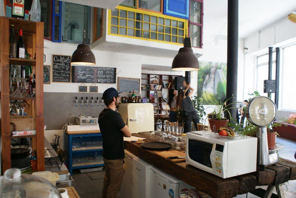 Bar Gallo Rojo dans le quartier d'Alameda à Séville.