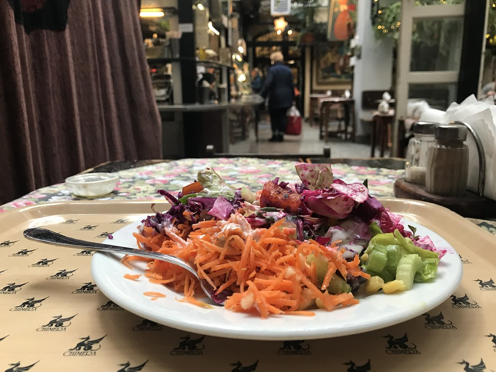 Chimera Salad bar, meilleures salades de Cracovie [Vieille ville]