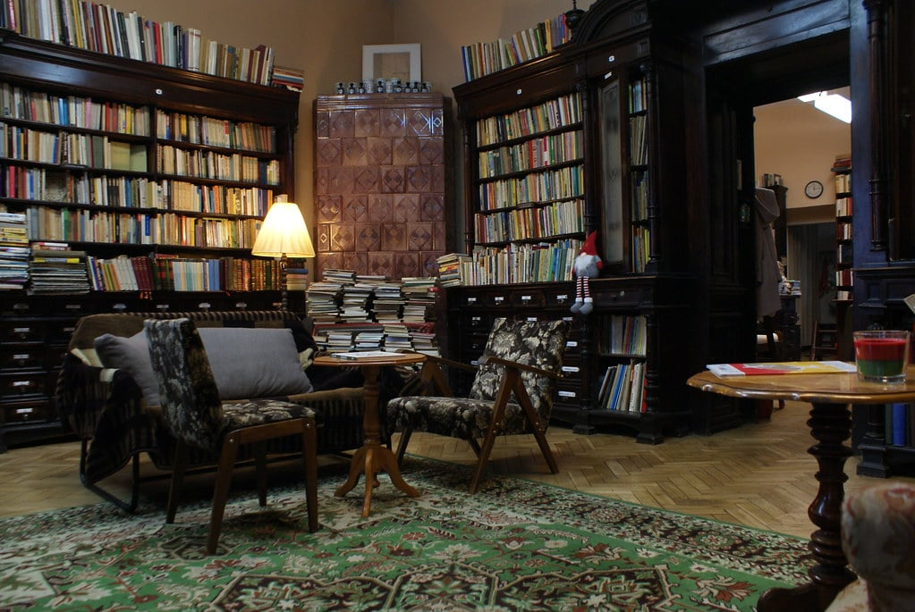 Librairie bouquiniste Abecadlo à Cracovie