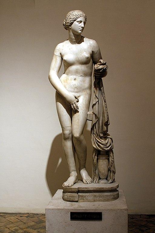 Musée National Romain : Aphrodite Cnidus au Palazzo Altemps à Rome - Photo © José Luiz Bernardes Ribeiro : CC BY-SA 4.0