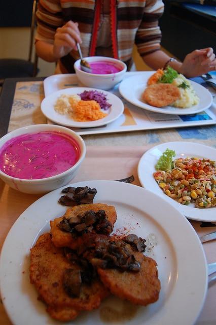Bar Mleczny Pod Temida, manger pour rien à Cracovie [Vieille Ville]