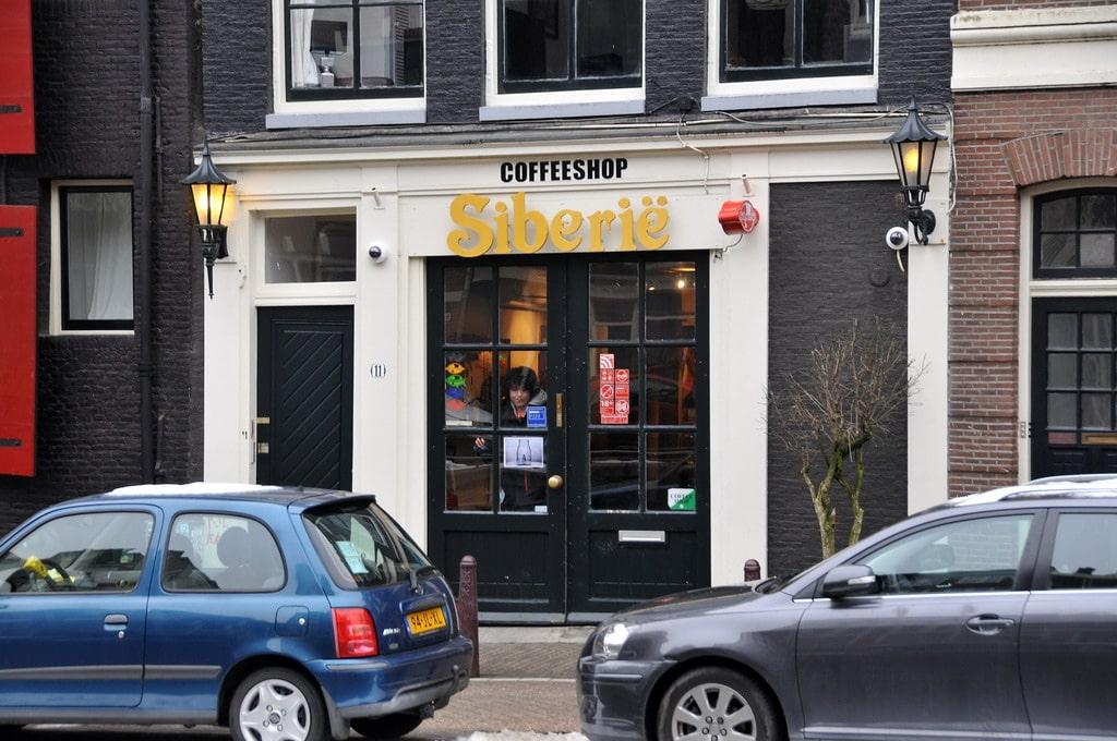 Siberie, coffee shop original et sympa à Amsterdam [Jordaan]