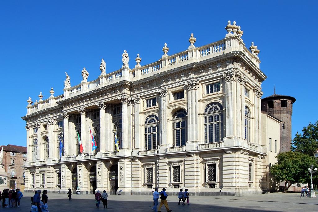 Baroque Palais Madame à Turin : Musée d'art antique [Centre]