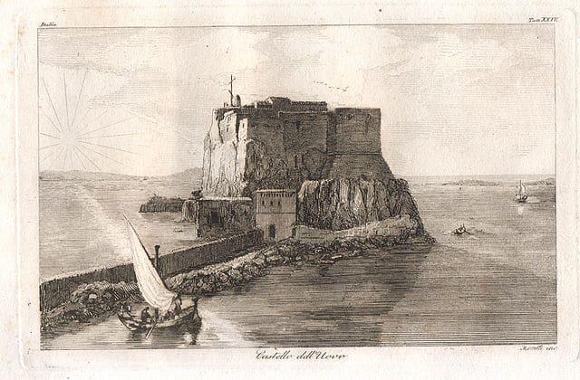 Castel dell'Ovo à Naples : Lieu romantique & légendes [San Ferdinando]