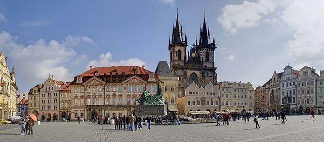 Prague Vieille Ville Quartier Stare Mesto