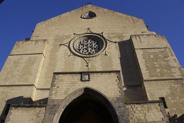 Santa Chiara à Naples, basilique gothique et cloître fleuri [Vieux Naples]