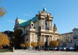 Eglise des Carmélites à Varsovie