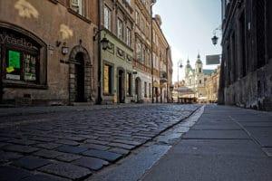 Nouvelle ville de Varsovie [Nowe Miasto] : Vieilles pierres sans les touristes