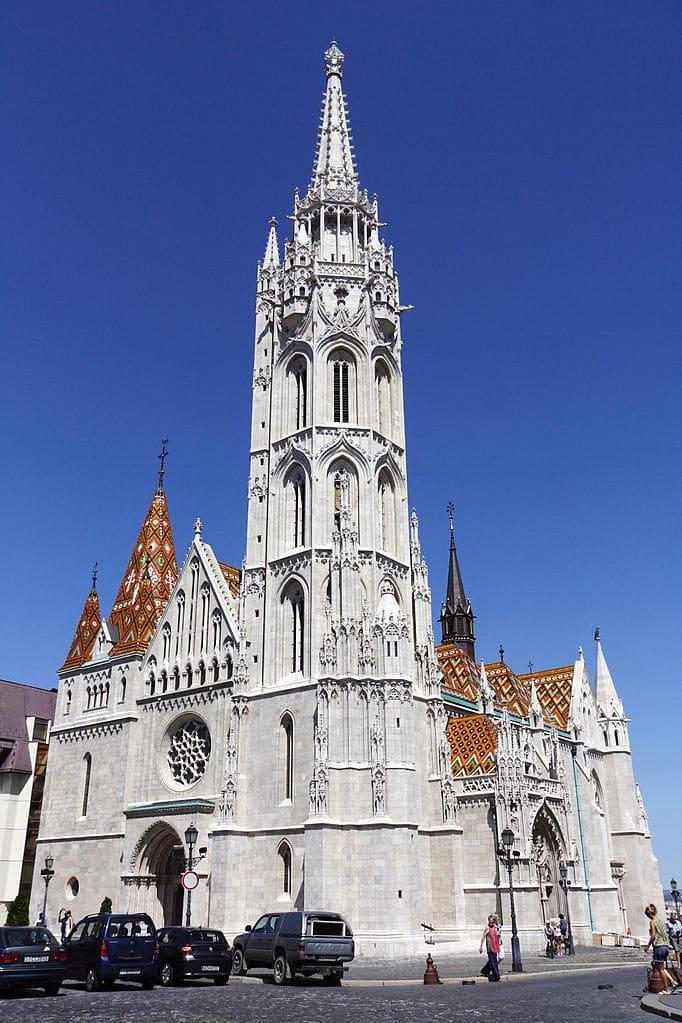 Eglise Matthias (Matyas) de Budapest : L'âme des Hongrois [Budavár]