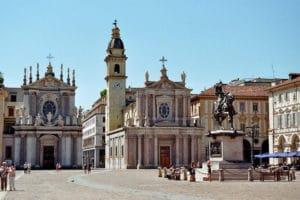 Piazza San Carlo et églises «jumelles» à Turin [Centre]