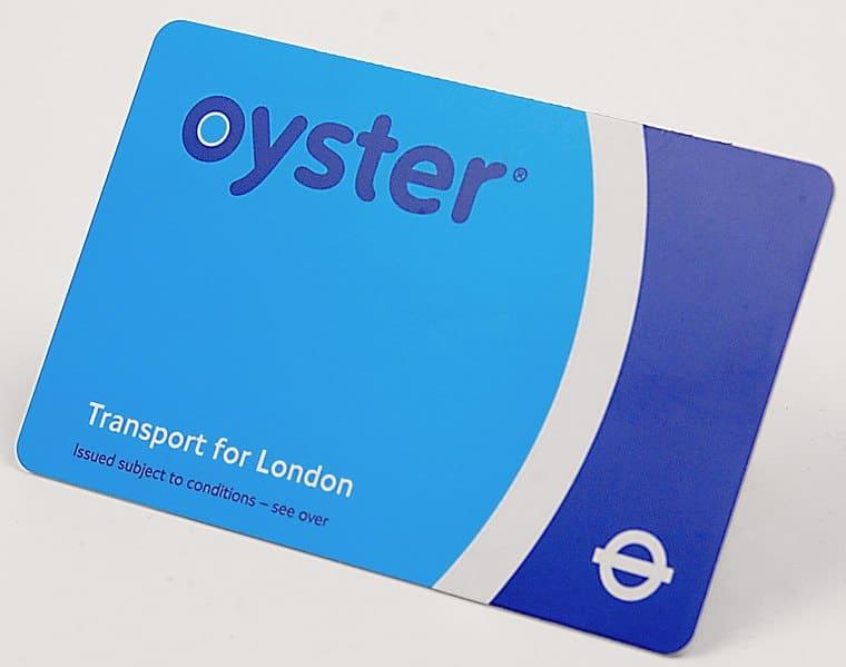 Metro à Londres : Oyster card et cartes du metro