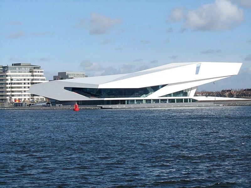 Eye FilmMusem à Amsterdam : Cinémas, musée et café exceptionnel [Nord]