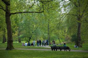 Green Park à Londres : Le voisin tranquille et pépère