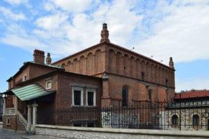 Ancienne synagogue et musée du judaisme à Cracovie [Kazimierz]