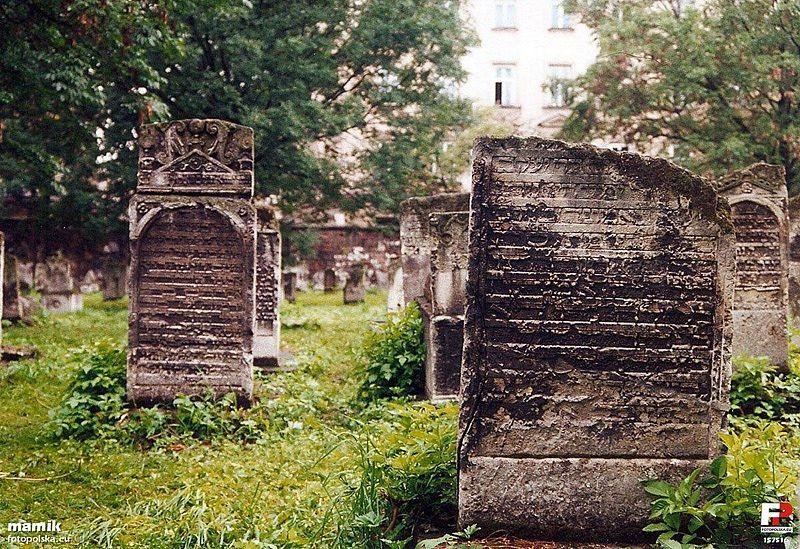 Cimetière juif Remu'h à Cracovie [Kazimierz]