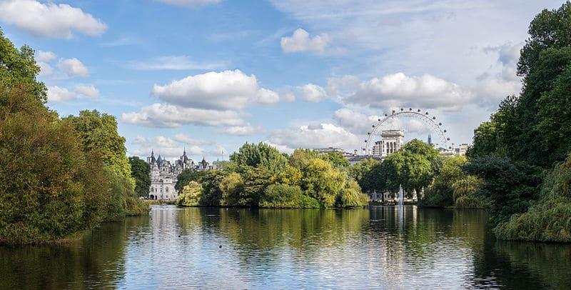 Parc Saint James Park à Londres : Le romantisme pour tous [Westminster]