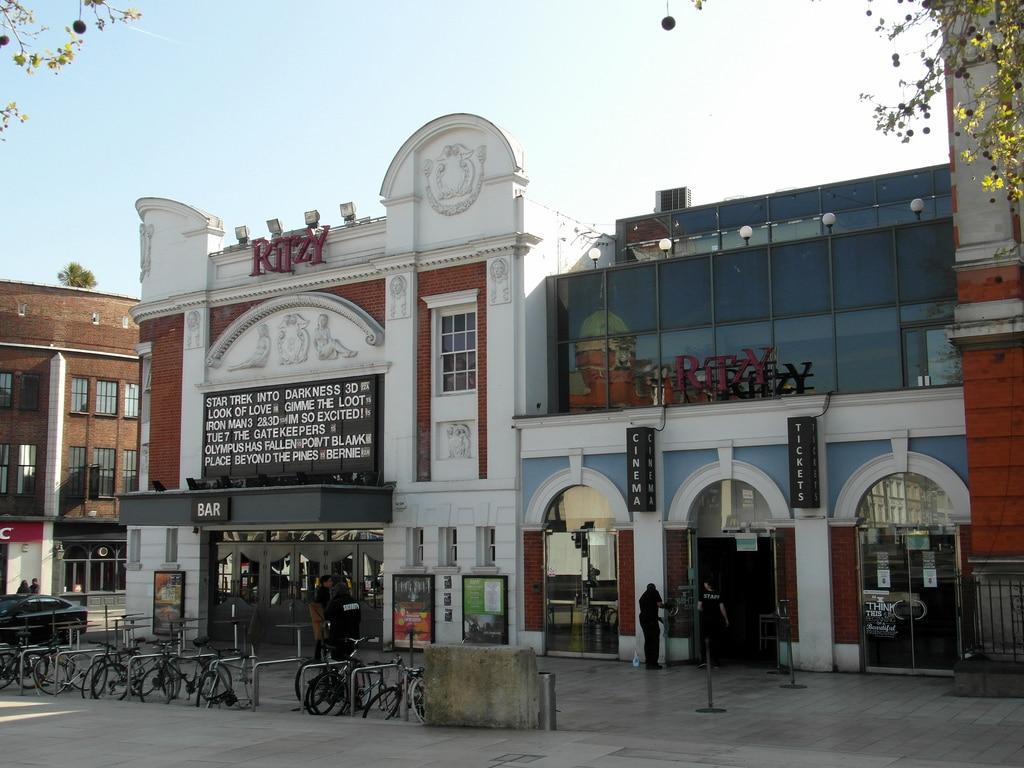 Cinéma et concert au Ritzy à Londres [Brixton]