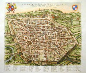 Carte de Bologne : Plan détaillé des lieux intéressants