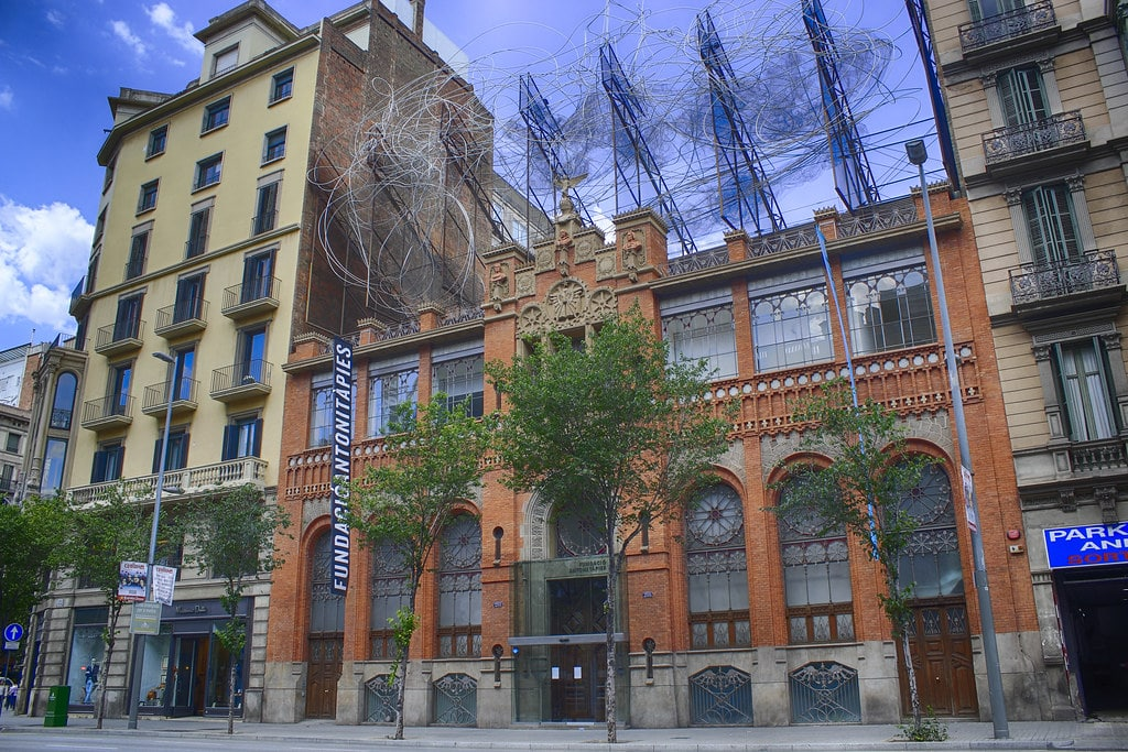 Musée Tapies, art contemporain à Barcelone [Eixample]