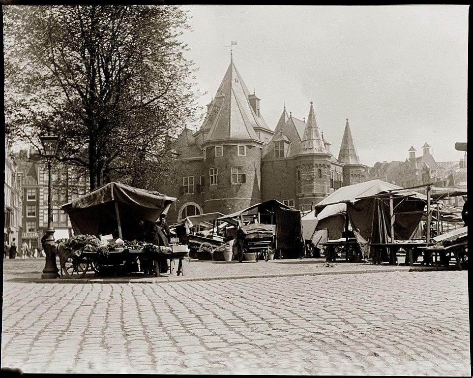 Café t'Loosje, ancien arrêt de tramway à Amsterdam [Vieille Ville]