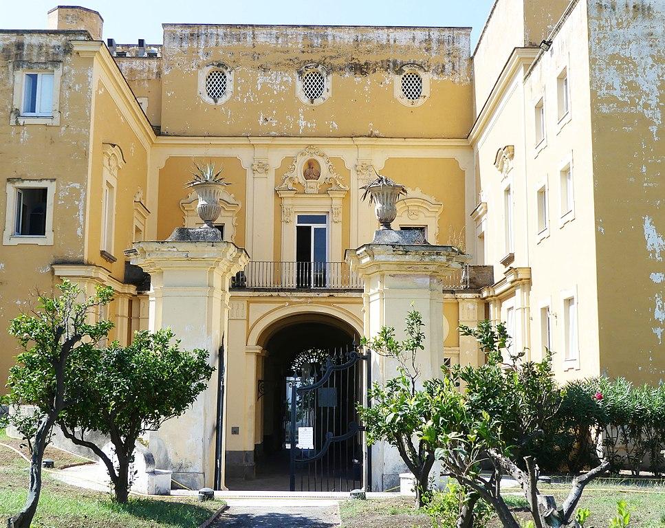 Villas vésuviennes à Naples : Vestiges baroques et classiques