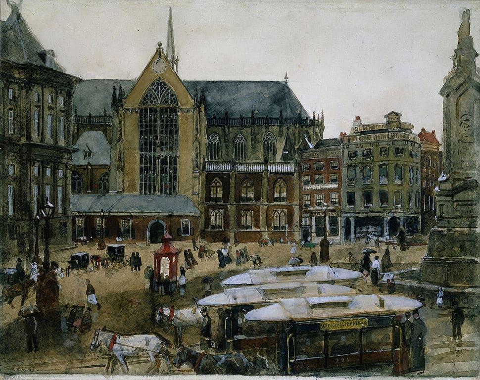 Nieuwe kerk, la nouvelle église gothique d'Amsterdam [Vieille Ville]