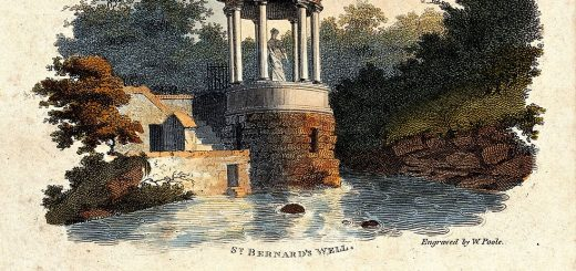 981px-Saint_Bernard27s_well._Coloured_etching_by_W._Poole._Wellcome_V0020121.jpg