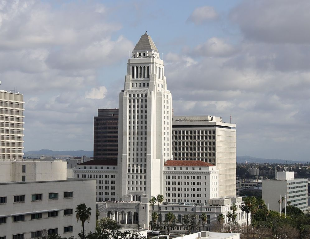 Los Angeles City Hall : La mairie de LA - Photo de Tim Ahem