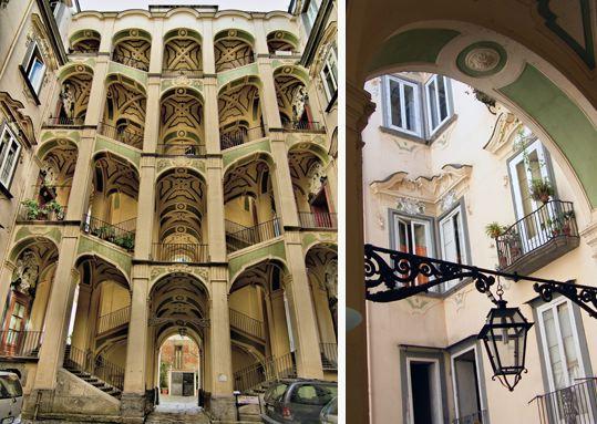 Sanfelice, architecte scénographe de Naples [Sanita]