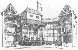 The Globe, theatre de Shakespeare à Londres comme à l'époque [South bank]