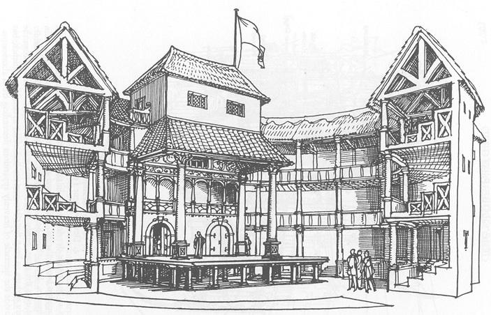 The globe theatre de shakespeare londres comme l 39 poque south bank vanupied - Theatre de la coupe d or ...