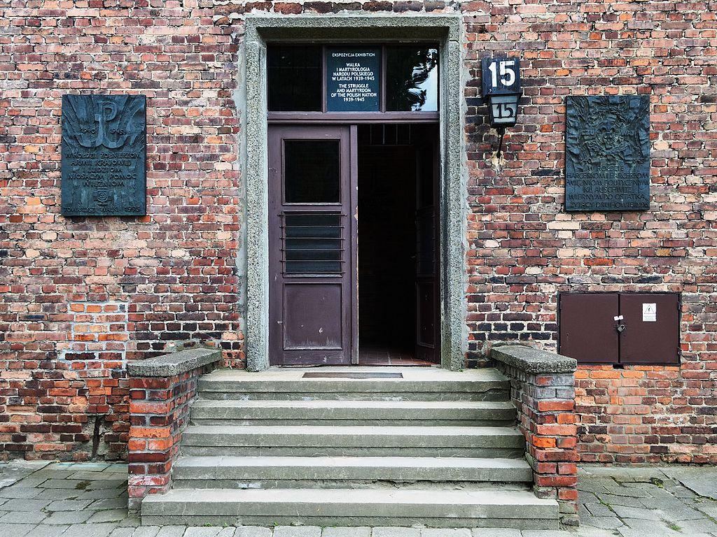 Dans le musée d'Auschwitz, bloc 15 - Photo de Scotch Mist
