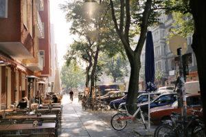Friedrichshain, quartier de Berlin-est entre clubs, Karl Marx et street art