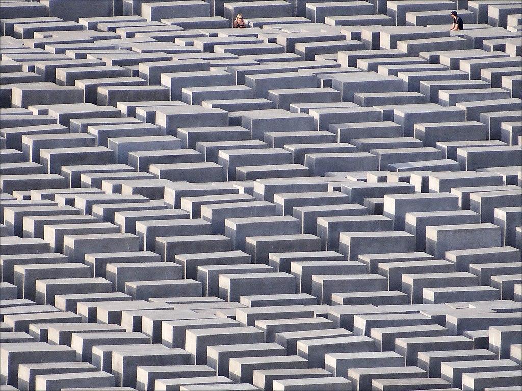 Mémorial de l'Holocauste à Berlin - Photo de Dalbéra / Licence CC-BY-2.0