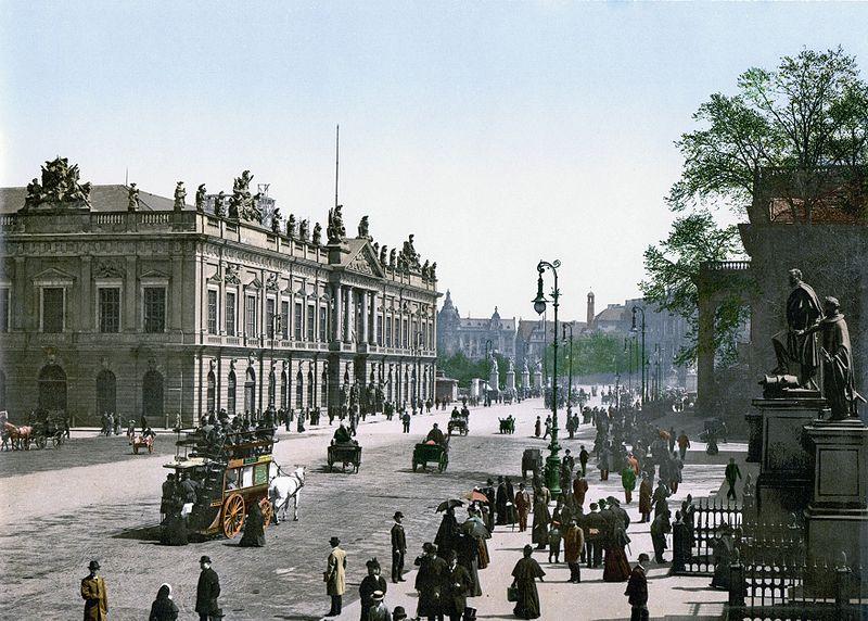 Mitte, centre ville et quartier historique de Berlin