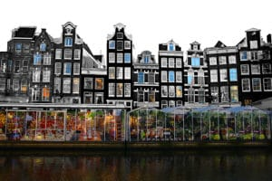 Marché aux fleurs d'Amsterdam, Bloemenmarkt [Vieille ville]