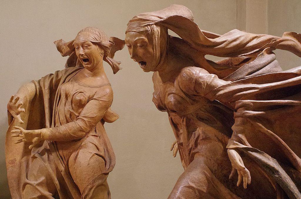 Autres sculptures en terracotta dans une église à deux pas de la cathédrale : Santa Maria della Vita à Bologne - Photo Paolo Villa.