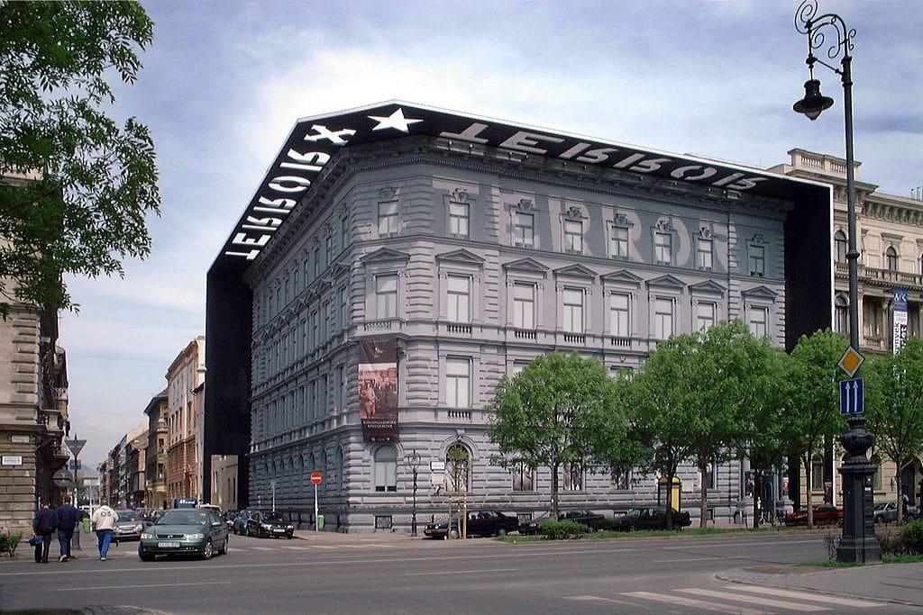> Maison de la Terreur, musée du totalitarisme à Budapest.
