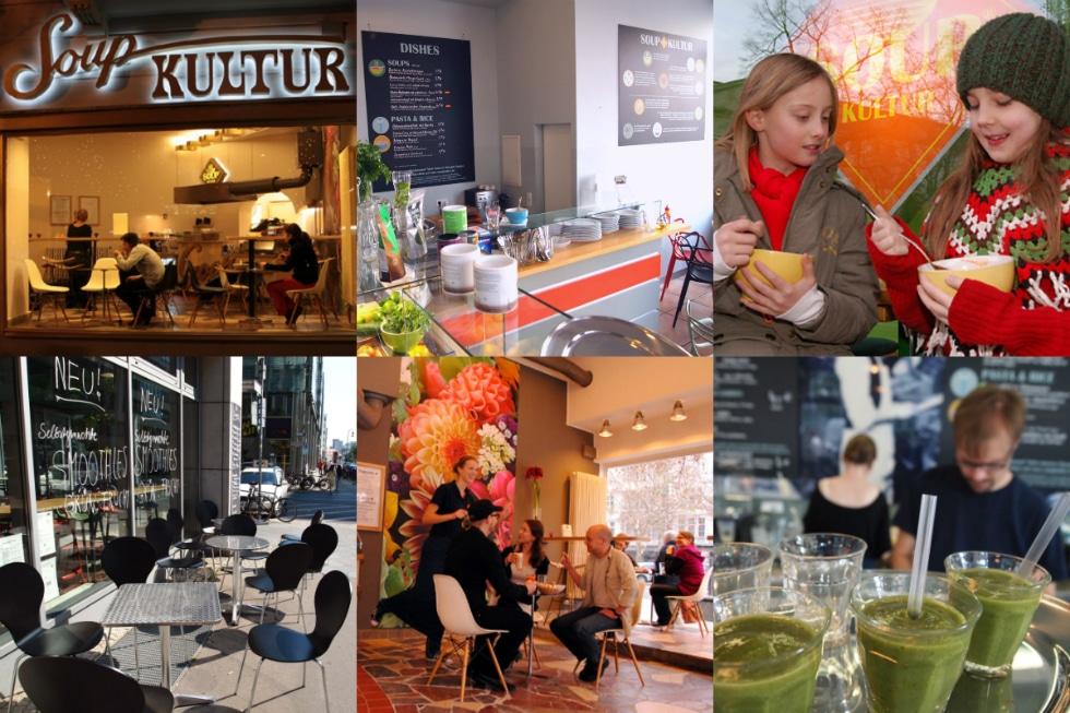 Soup Kultur, bar à soupe à Berlin [Charlottenburg]