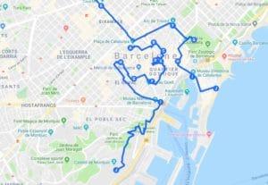 Itinéraires à Barcelone pour un week-end chouette