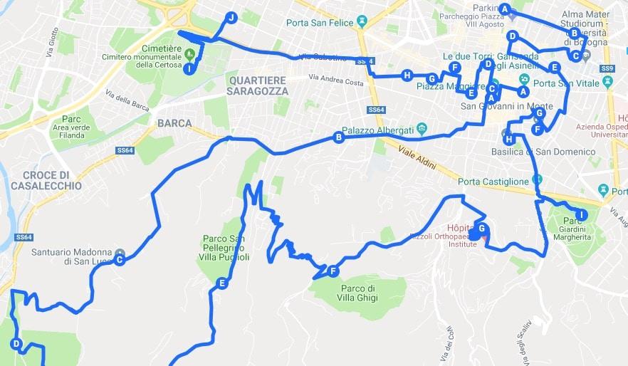 Itinéraires à Bologne pour un week-end chouette