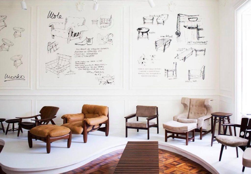 Design brésilien à Lisbonne à la Casa Pau-Brasil.