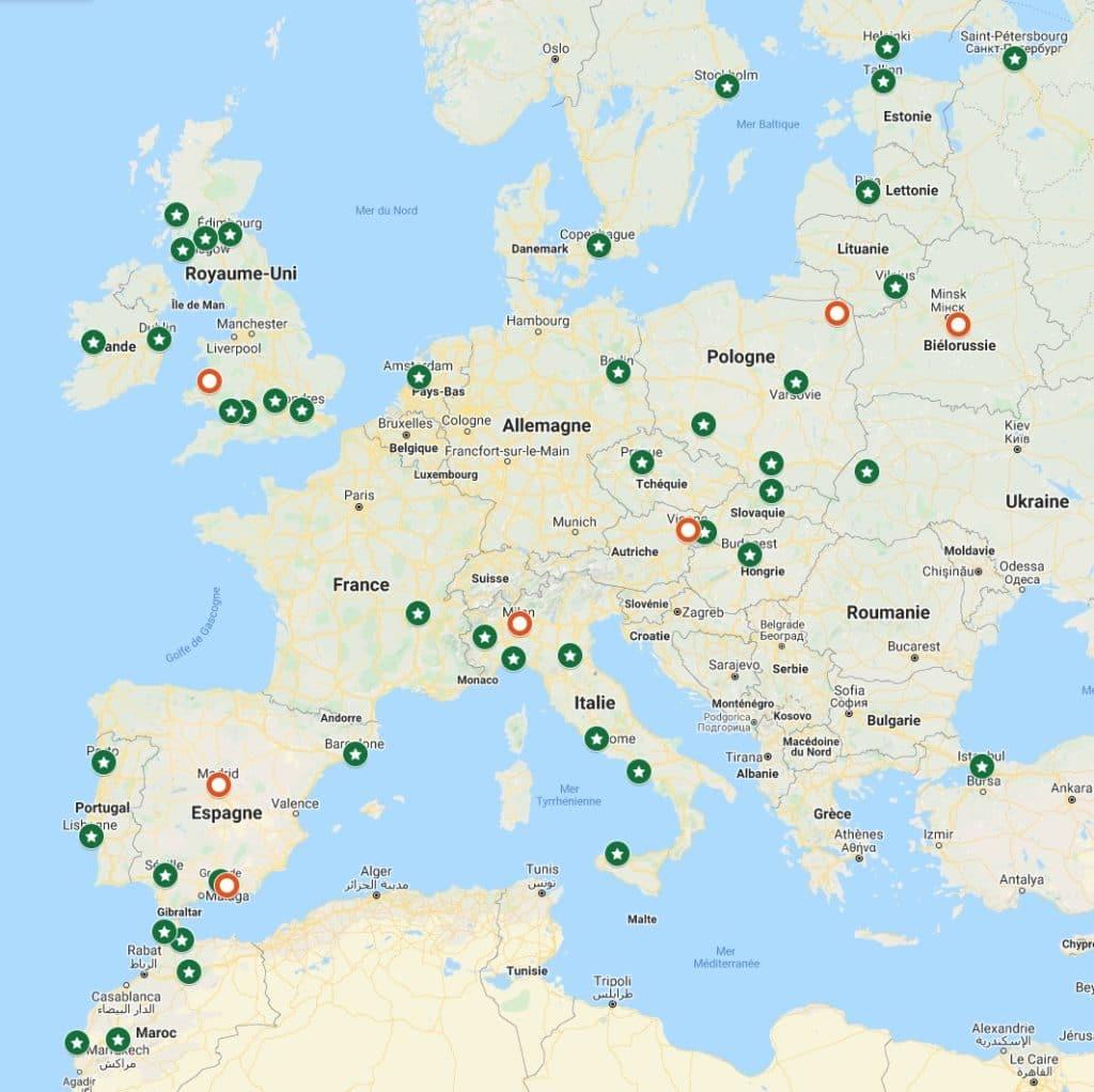 Guides touristiques de Vanupied.com