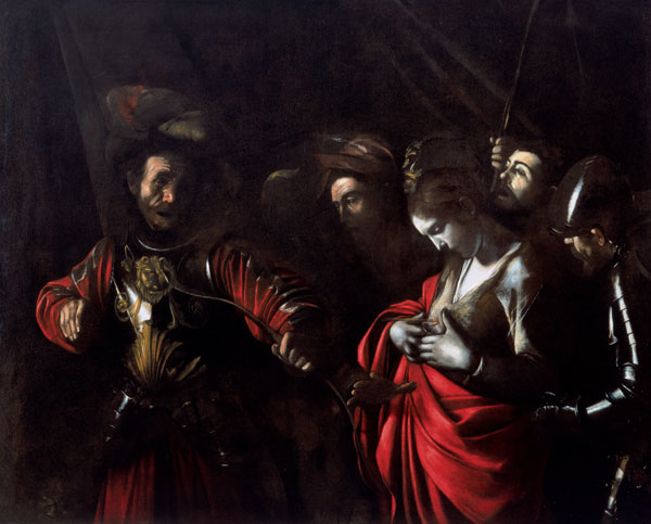 """Dernière oeuvre de Caravaggio """"Le martyr d'Ursula"""" (1610) au Palazzo Zevallos à Naples"""