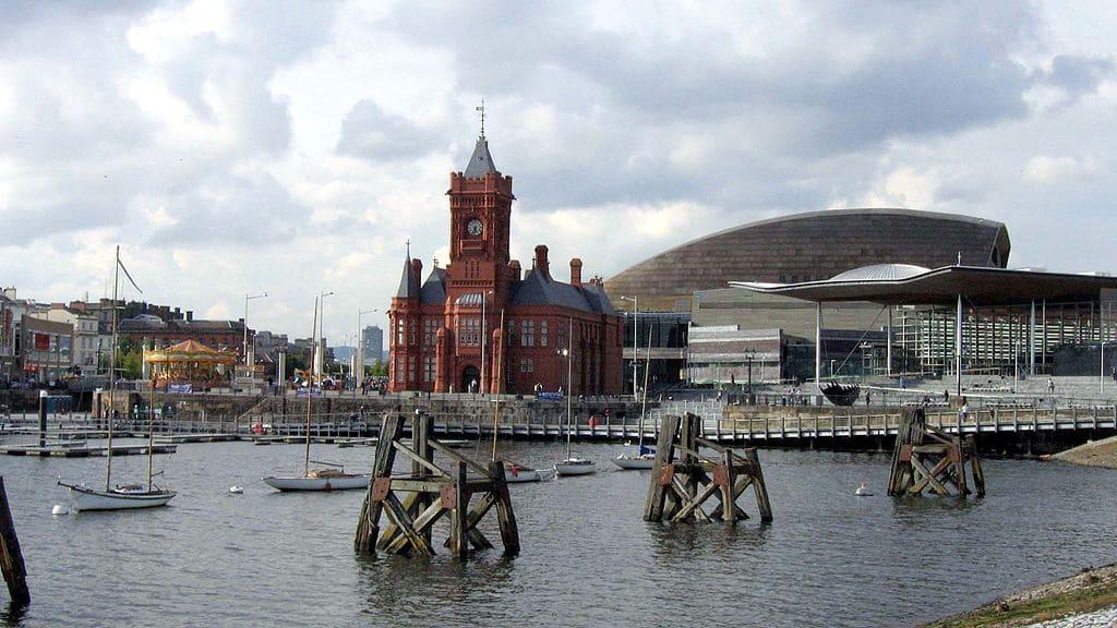 Cardiff Bay avec ses batiments remarquables - Photo de Graham Well