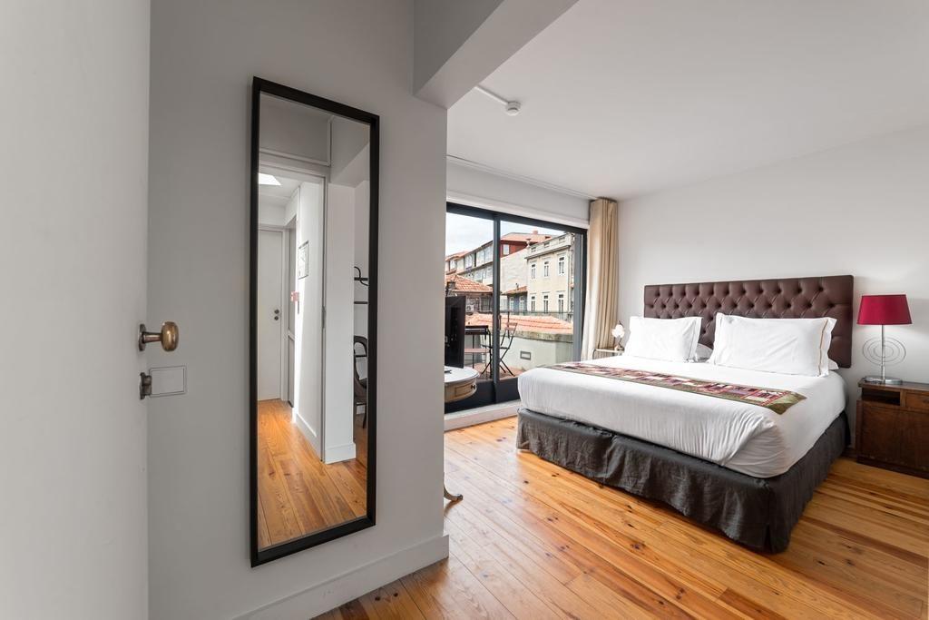 Chambre avec vue à l'hôtel Casa dos Lóios by Shiadu à Porto.