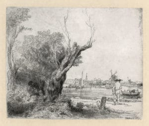 Musée Rembrandt à Amsterdam dans son ancienne demeure [Waterlooplein]