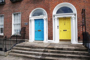 Merrion square, quartier georgien de Dublin