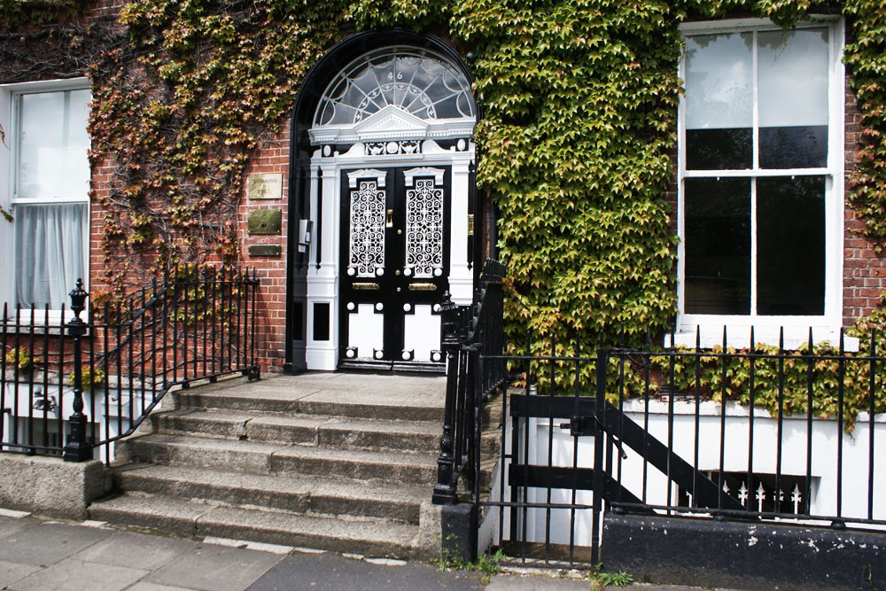 Merrion square, beaux quartiers georgiens de Dublin