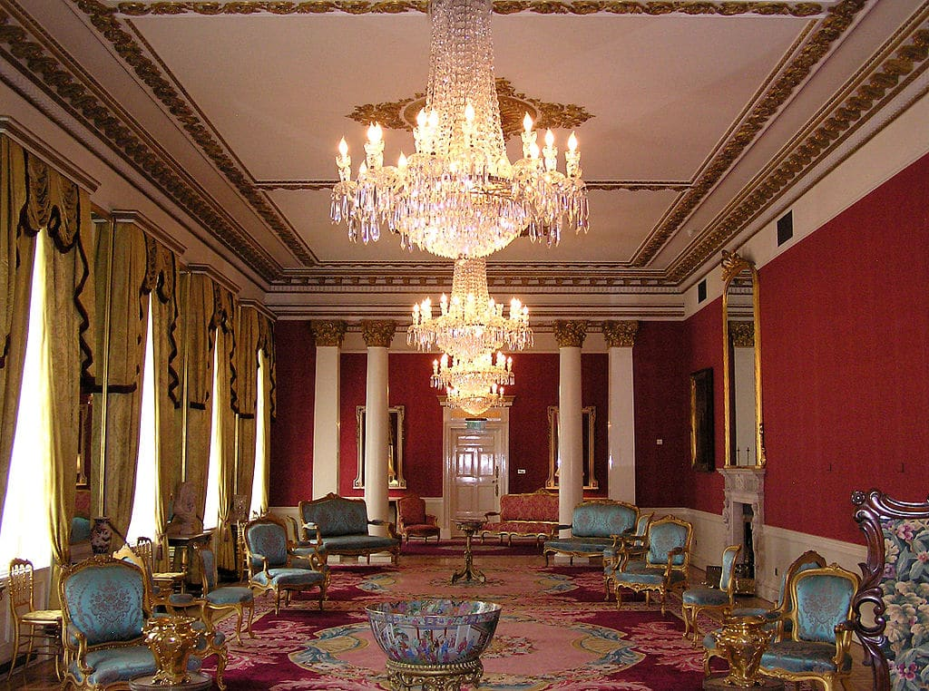 State Drawing Room dans le chateau de Dublin - Photo de Donaldytong